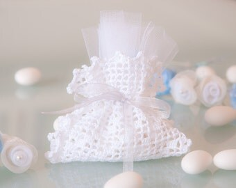 Bomboniera crochet (art. 1)