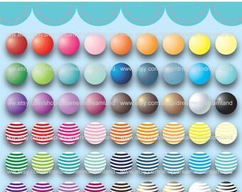 Printable Clipart Clip Art Digital PDF PNG File - Bead 1