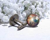 Cuff link cufflink galaxy space cufflinks nebula cufflinks Men custom jewelry Cool Gifts ideas for guys custom cufflinks Gifts for Him