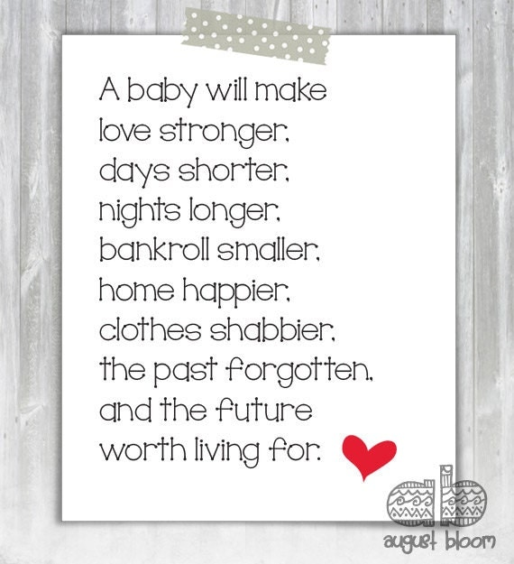 Welcome Home Baby Boy Quotes: Items Similar To New Baby Poem