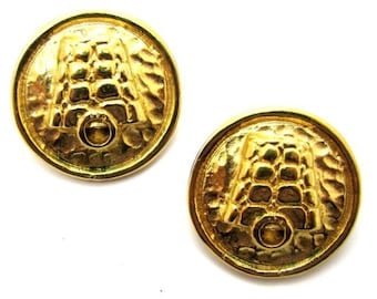 CELINE, vintage clip earrings