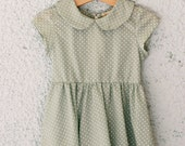 woven dress baby collar