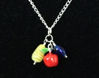 Snow White Apple Necklace