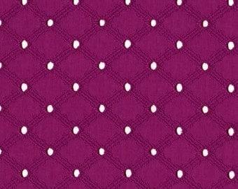 EYELET : Jewel Lattice, One Yard, from Michael Miller Fabrics