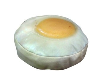 Egg round dog bed. Dogzzzz tired of the same old plaids and stripes brings the rugged outdoors in and makes it fun.