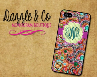 iPhone 4/4s  5/5s/5c  6/6plus   Ipod5 Touch  case Paisley/Chevron