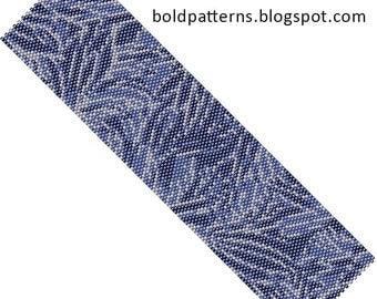 Bead Pattern (peyote stitch), bracelet