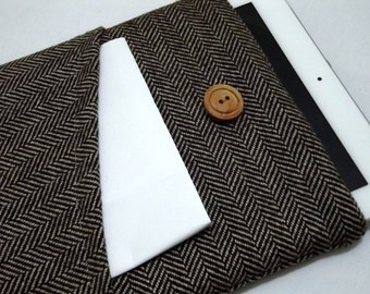 "wool herringbone 17""hp envy  17 inch laptop sleeve, laptop case 17 inch, laptop bag 17 inch, 17"" laptop case,17, 17 inch macbook pro case"
