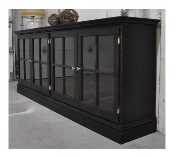 media cabinet with glass doors etsy your place to buy and sell all things handmade 23131