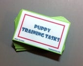 Puppy Training Task Card Pack with Grab Bag Train 'Em Tasks - Pack of 45 cards - Family Dog, Puppy Training, dog training, dog obedience