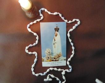 Lady Of Fatima Rosary Cord Rosary