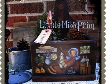 Little Miss Prim pattern, Terrye French