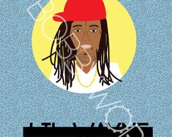 Lil Wayne Print
