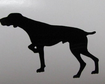 """German Shorthair Pointer Decal / Sticker 5"""" - any color - Dog GSP"""