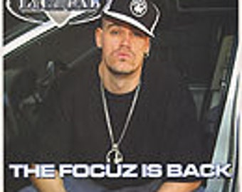 The Focuz Is Back -12inch Vinyl Record by Lyrical (AKA Professor Lyrical, also of Invasion)