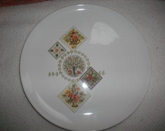 Vintage Apple Plate