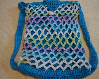 Hand crocheted bag