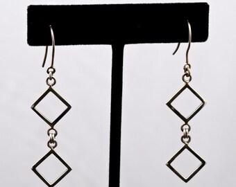 Geo15 - Earrings - Sterling Silver