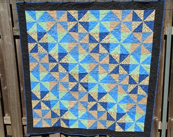 Pinwheels lap quilt ON SALE!!