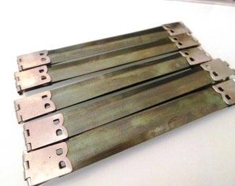 10 Pcs 8,5 cm flex frame silver