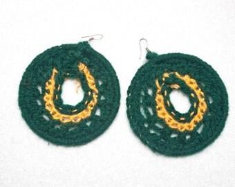 Crochet Earring - Hoop