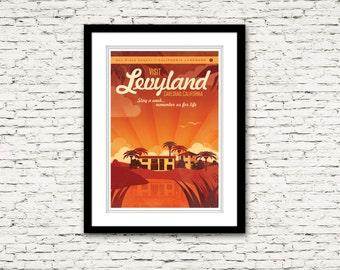 Levyland in Carlsbad California Print 14x20