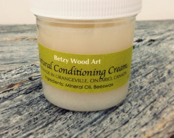 6oz. Natural Conditiong Cream | Beeswax & Mineral Oil