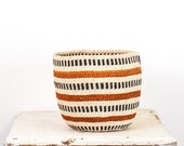 Reserved for Jessie! CHARITY sisal storage basket from Kenya