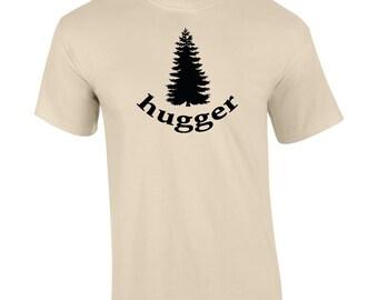 Tree Hugger Men's Womens T shirt