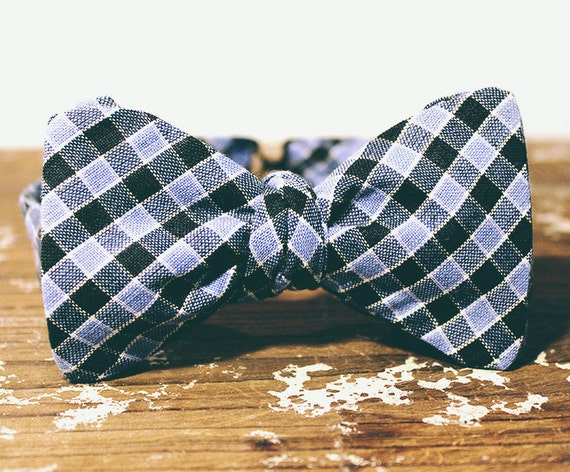 Ginghambone Bow Tie
