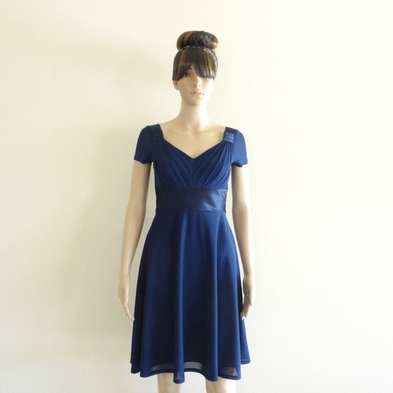 Navy Blue Bridesmaids Dresses With Sleeves : Bridal gowns separates bridesmaid dresses flower girl mother