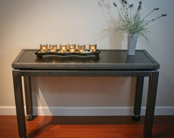 Modern Industrial Buffet Table Desk