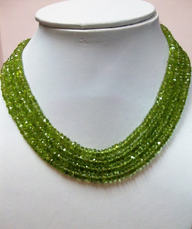 5 strand 4mm peridot rondelle faceted beads micro faceted 13 inch peridot beads rondelle. Black Bedroom Furniture Sets. Home Design Ideas