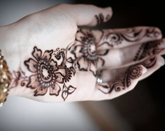 Complete Organic Henna Kit - For Professionals and Beginners