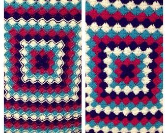 Crochet Catherine's Wheel Afghan