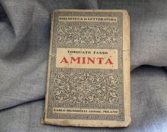 Aminta: a pastoral tale by Torquato Tasso, edition of 1927