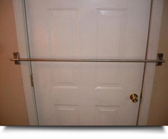 See safe home security door bar lock