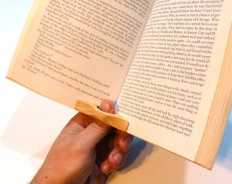 Thumb-Ring Book Page Holder