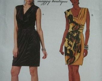 Misses Dress Size 6-8-10-12 Butterick Suzi Chin - Maggy Boutique Dress Pattern Butterick B5674  UNCUT NEW Pattern