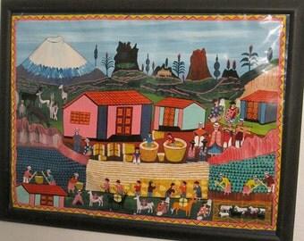 Ecuadorian Indigenous Painting