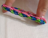 "Rainbow Loom ""Waterfall"" Bracelet"
