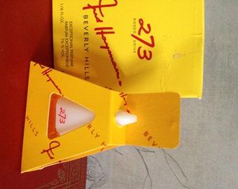 Vintage Fred Hayman Beverly Hills 273 Rodeo Drive Perfume Parfum 1/8 fl. oz.