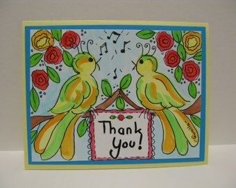 Birds Singing Thank You !