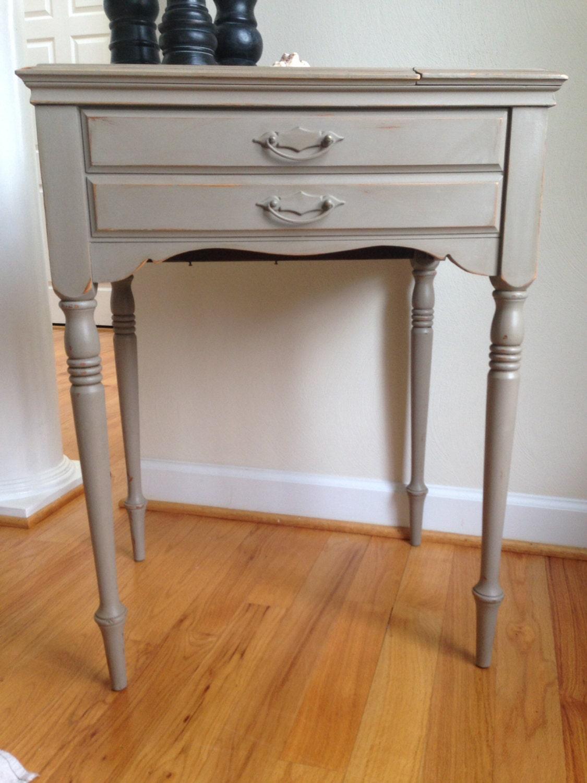 Custom sewing machine cabinets
