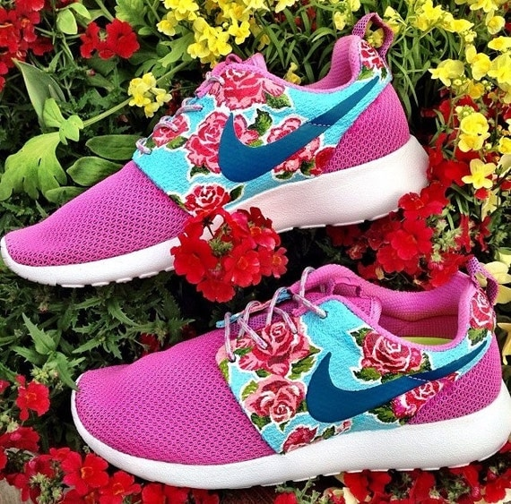 Nike Roshe Run with Rosy pattern ART ONLY