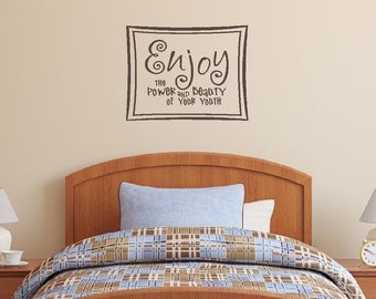 Enjoy / Wall Decal