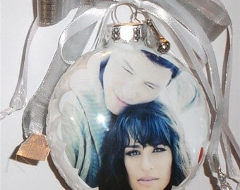 Cory Monteith inspired Tribute Christmas Ornament