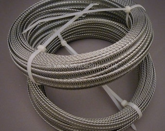 6mm Continuous Spiral Wire for Corsetry  25m rolls