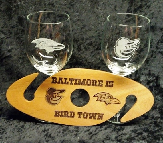 Eyeglass Frames Baltimore : Ravens and Orioles Baltimore is Bird Town wooden by ...