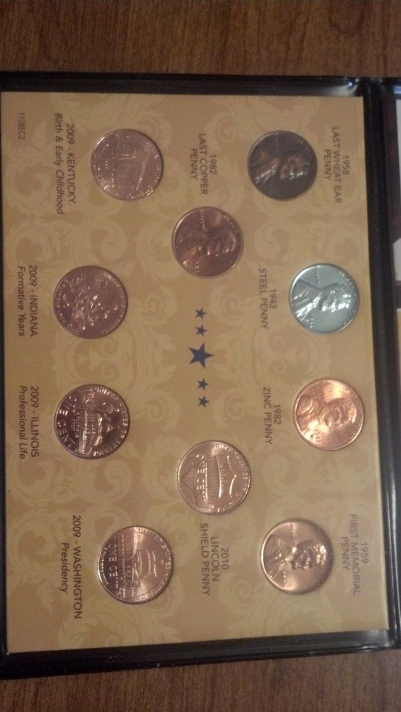 compete lincoln penny design collection